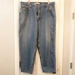 Levi's 560 Comfort Fit Denim Blue Jeans 42x30